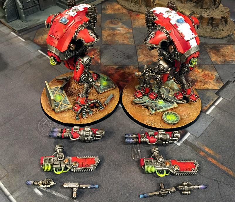Armiger Inq group front detached parts