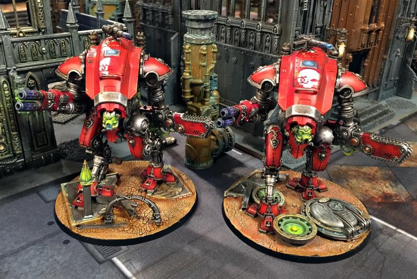 Armiger Skulls group front close 2