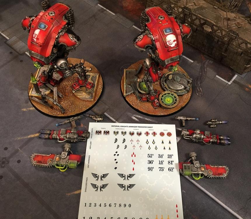 Armiger Skulls group front parts2