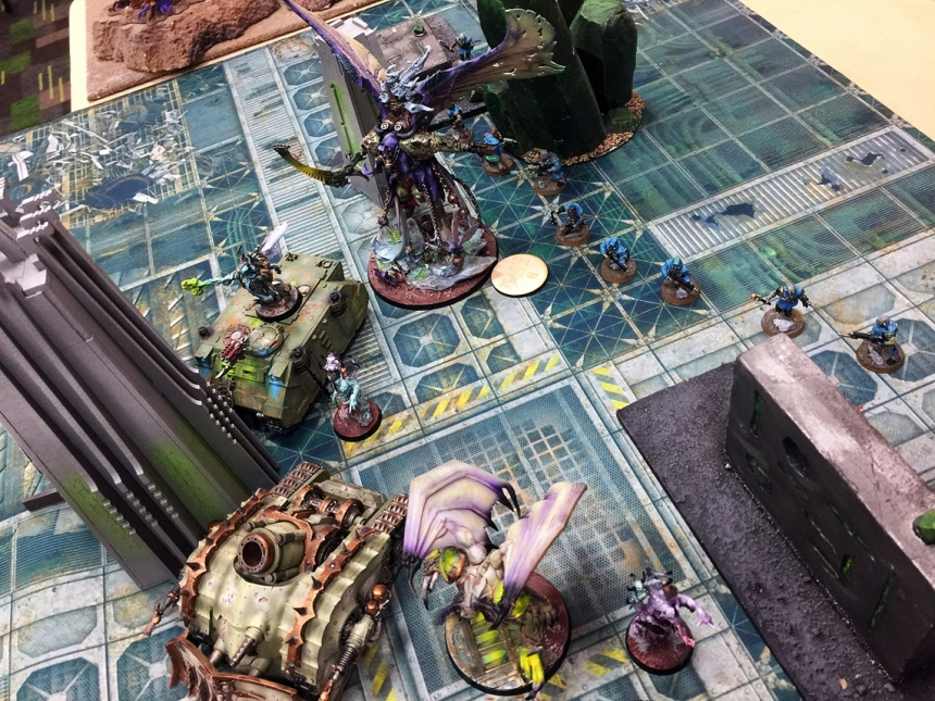 Game1 DG vs Alphatree 1