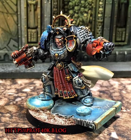 Prots limited Deathwatch Capt Front
