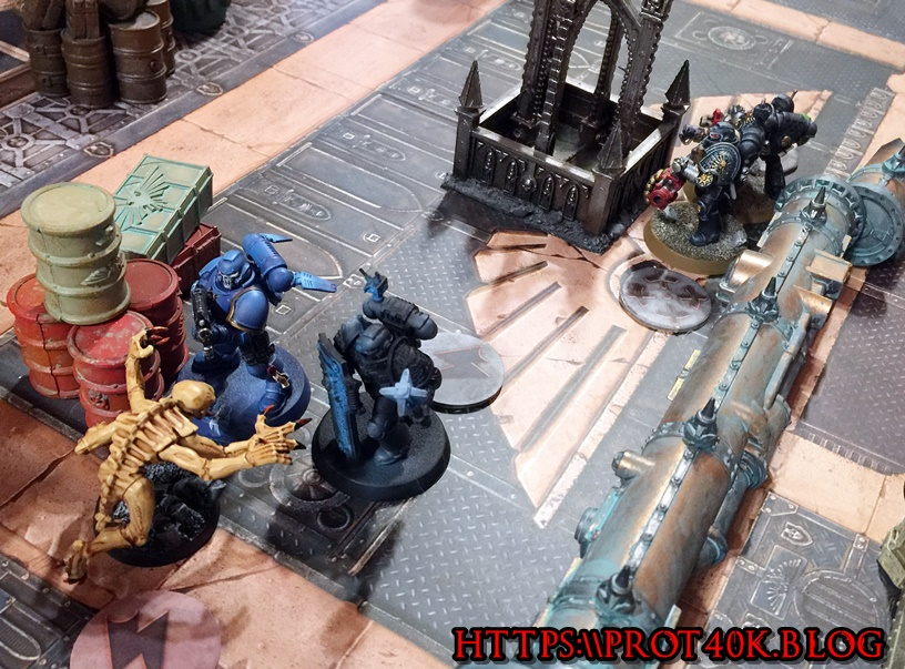 DW bashing in a genestealer